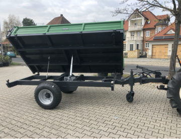 3-sides tipping trailer